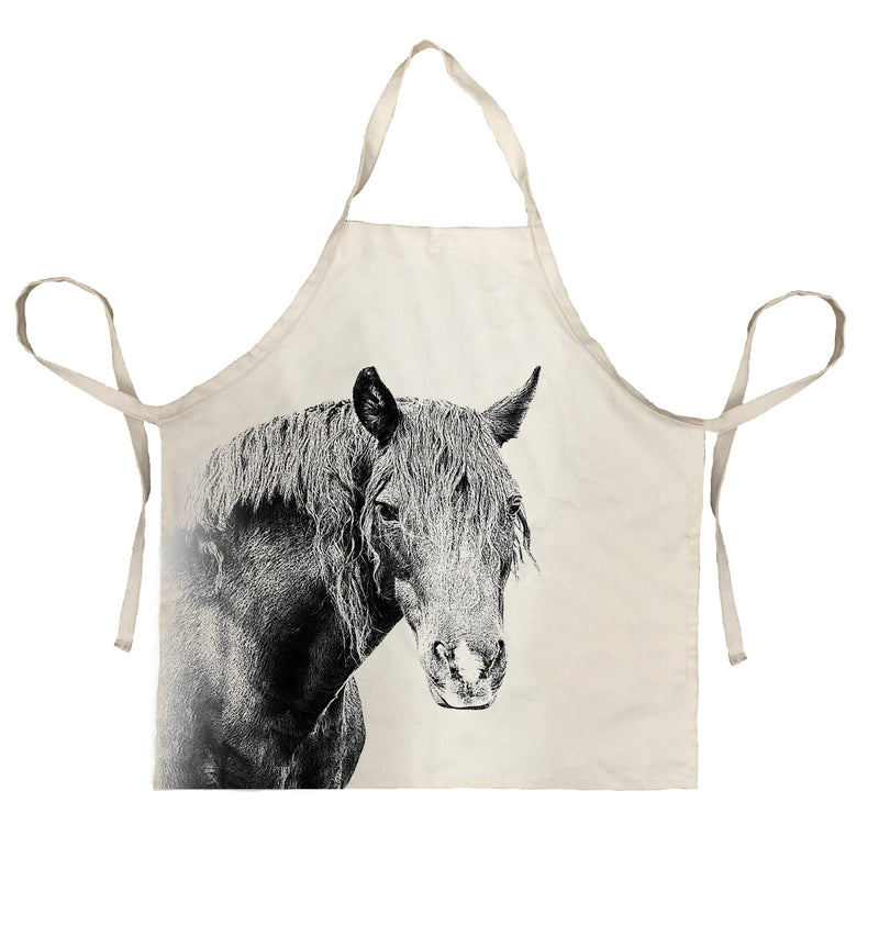 Eric & Christopher Horse Apron