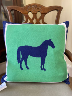 Pomegranate Throw Pillow - Horse