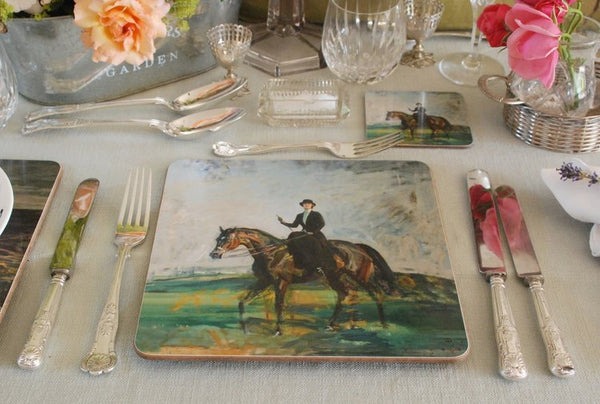 "Munnings ""Lady Munnings riding a Bay Hunter"" Placemat"