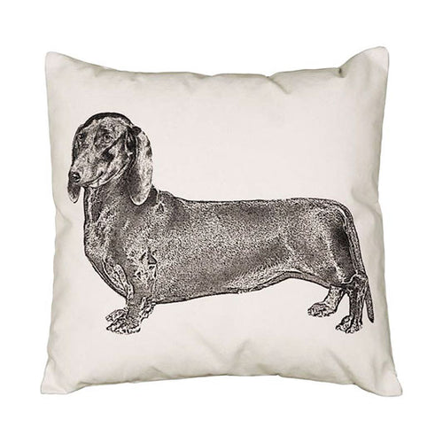 Eric & Christopher Daschund Cushion Cover