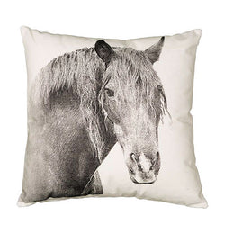 Eric & Christopher Horse Cushion Cover