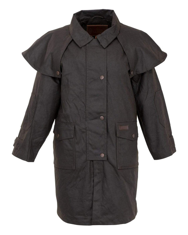 Outback Kids Long Wax Coat - The Kids Duster