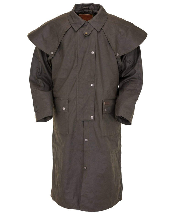 Outback Unisex Long Wax Coat - The Low Rider Duster