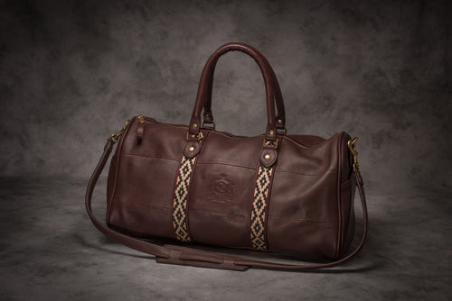 Glaze & Gordon Perry Weekender Bag with Pampa Accent