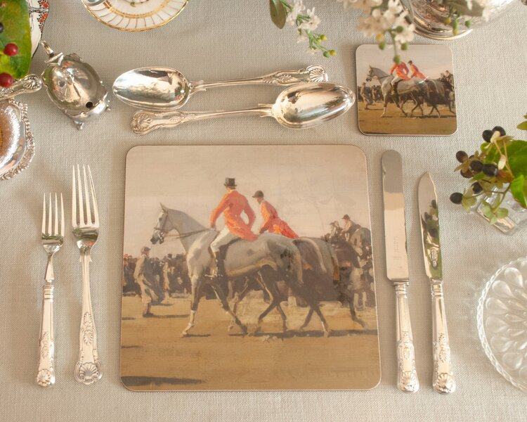 Isabel Scott Point to Point Placemat