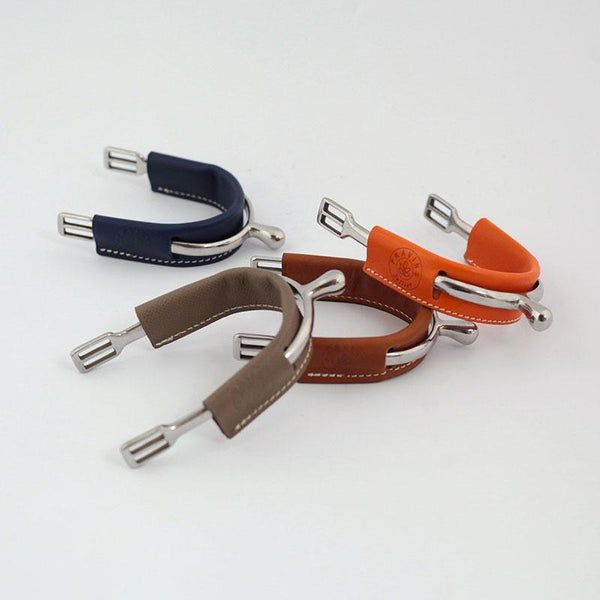 Pravins Sellier Leather Spur Covers