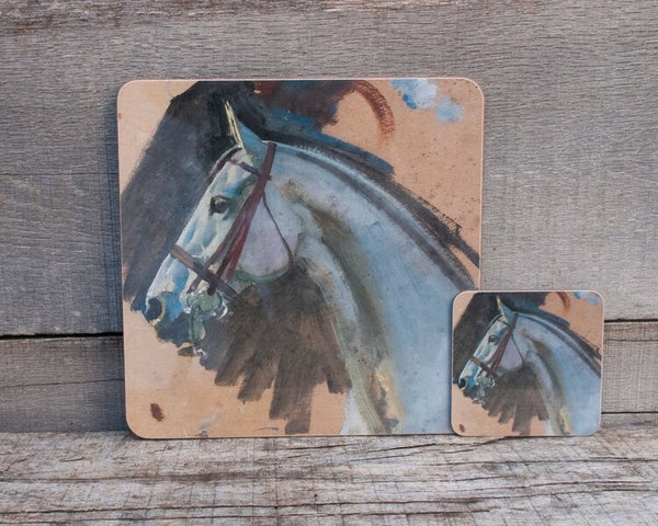"Munnings ""Study of a Grey Mare's Head"" Placemat"