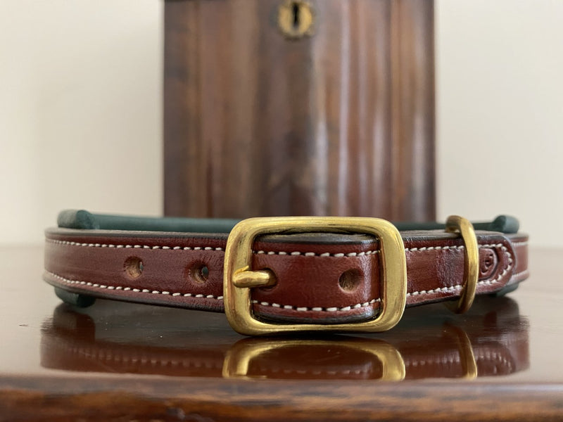 Glaze & Gordon Brockton Padded Leather Collar