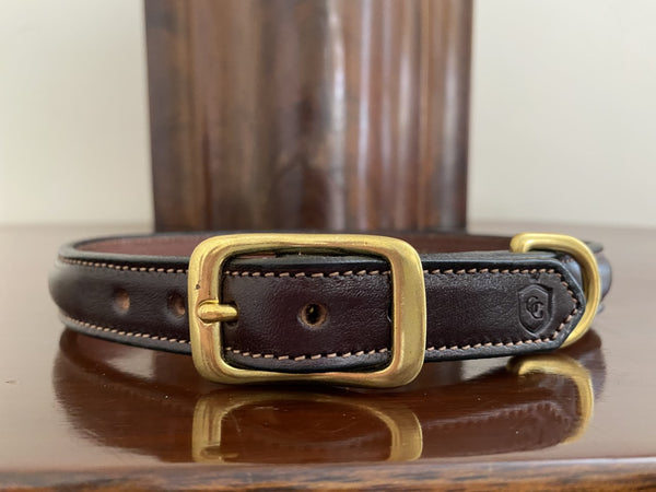 Glaze & Gordon Mitford Raised Leather Collar