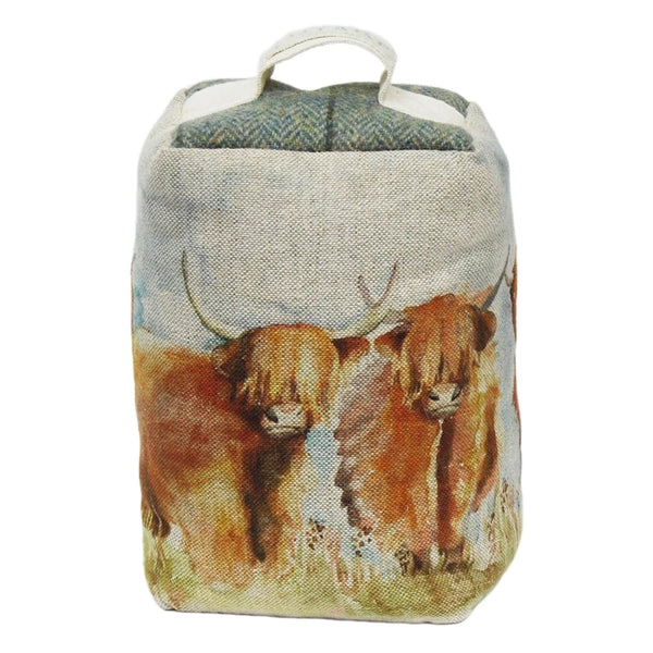 Voyage Doorstop - Highland Cattle