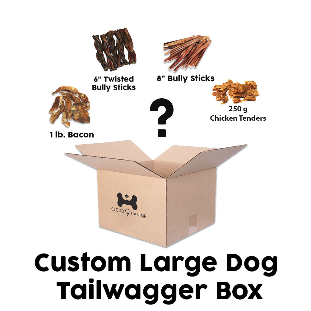 Custom Large Tail Wagger Box