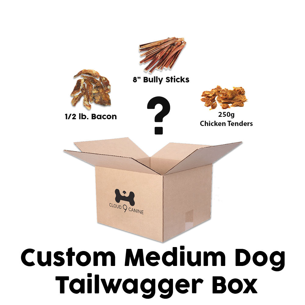 Custom Medium Tail Wagger Box