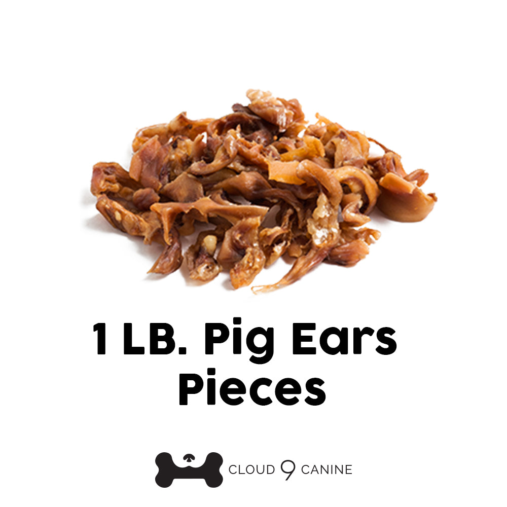 1 lb. Pig Ear Pieces