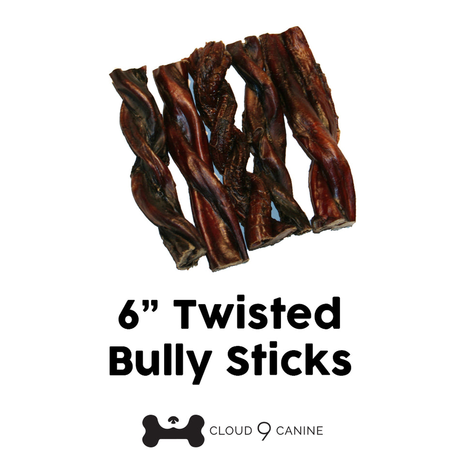 "6"" Twisted Bully Stick"