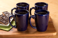 Ceramic Bistro Style Coffee Mug, Pack of 2