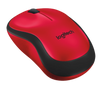 Logitech M221 SILENT Wireless Mouse Red Colour
