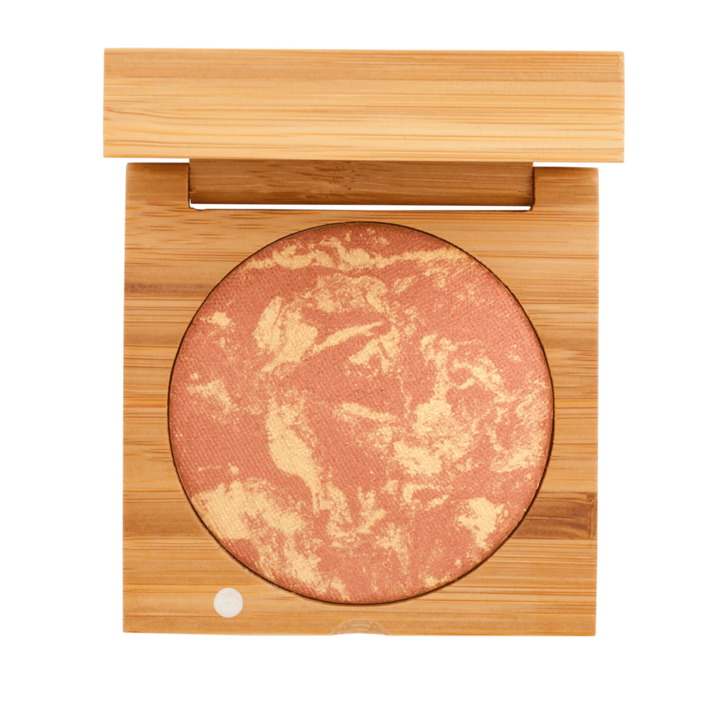 Certified Organic Baked Blush in Copper