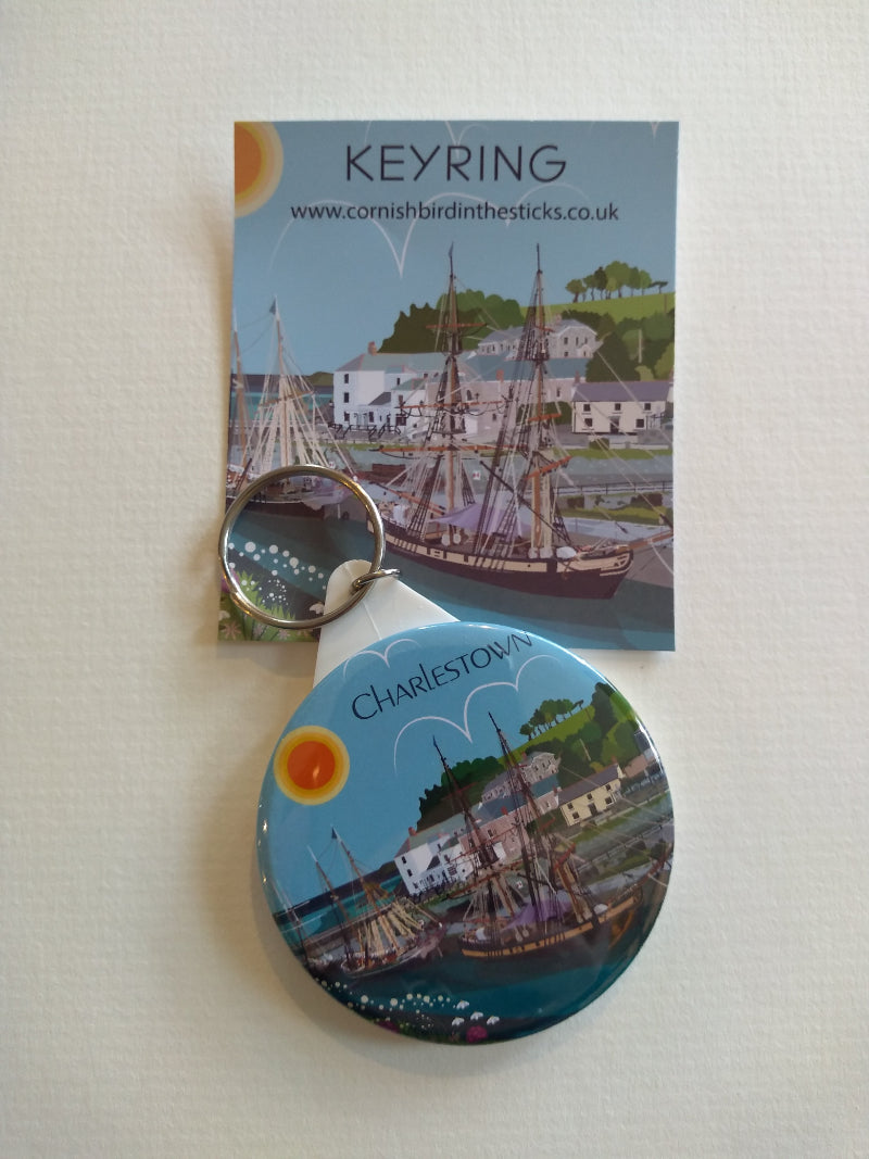 Charlestown keyring by Kate Pearson