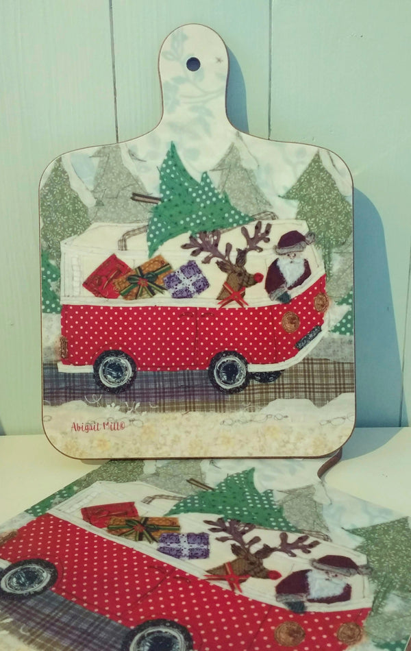 Abigail Mill, Santa's Camper chopping board