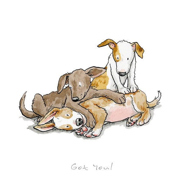 Anita Jeram A Dog's Life, Got You! print