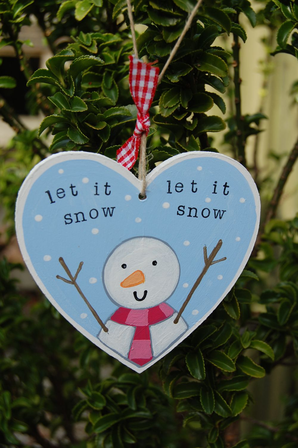 Let It Snow Christmas Decoration