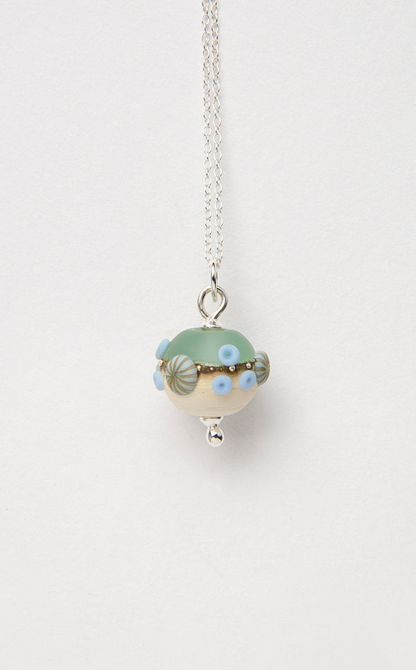 Sea Spray Beach Babe Round pendant