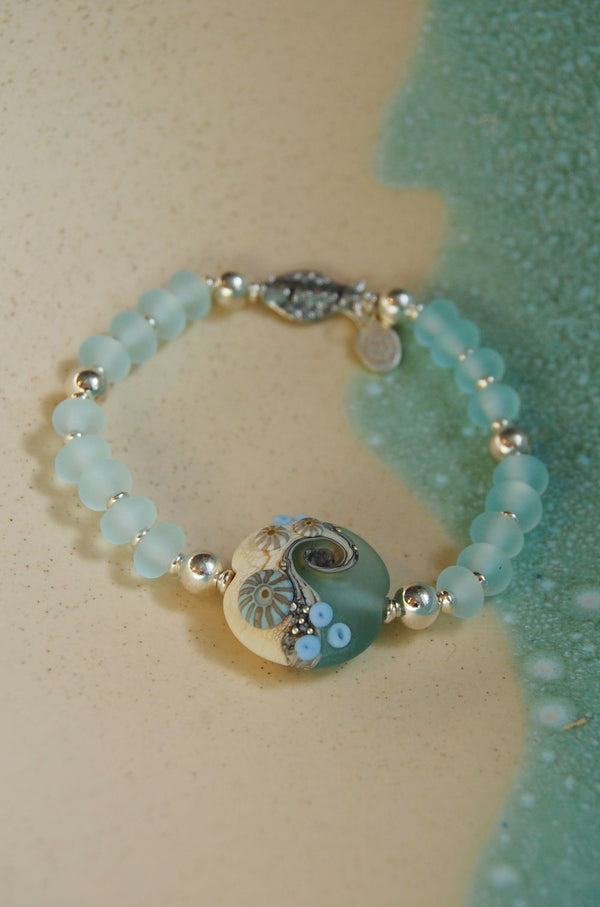 Sea Spray Silver Fish bracelet