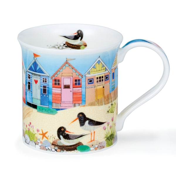 Beach Huts Shorelife mug
