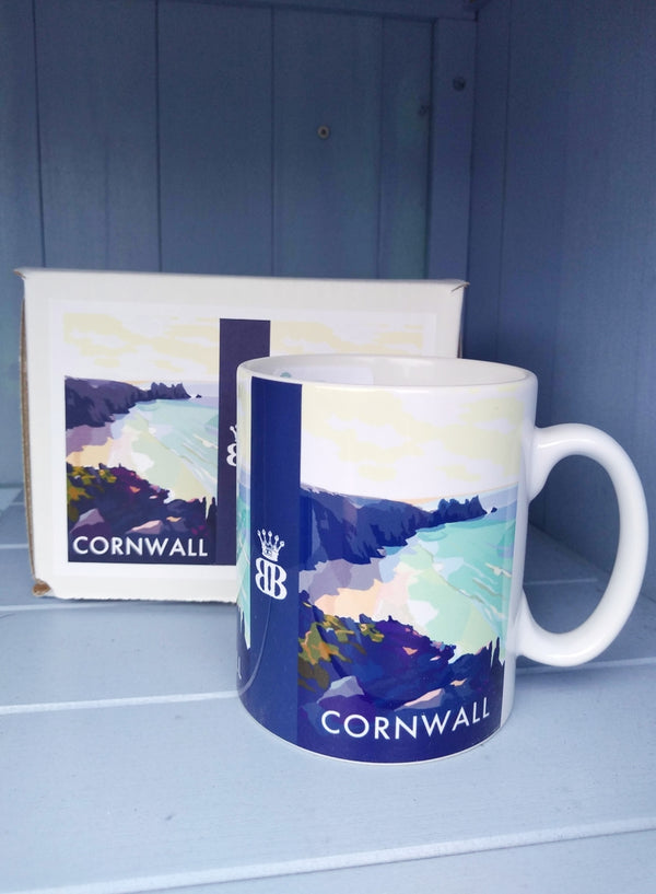 Becky Bettesworth Cornwall Bay mug