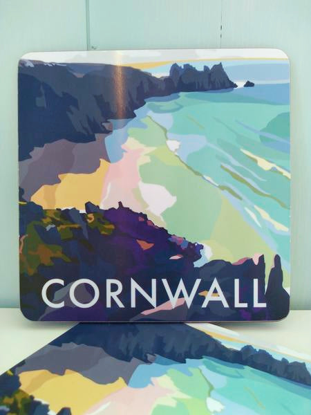 Becky Bettesworth Cornwall Bay Placemat