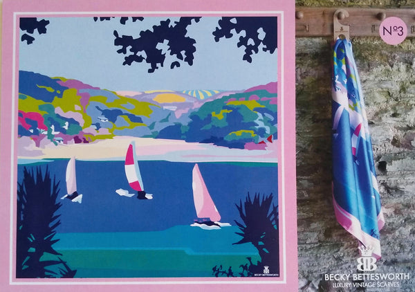 Becky Bettesworth Salcombe Scarf