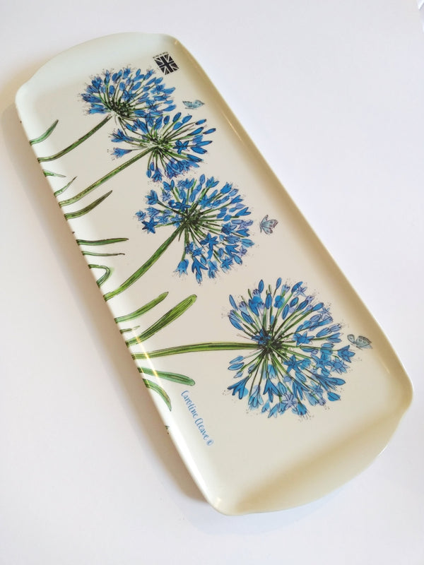 Caroline Cleave Agapanthus Sandwich Tray