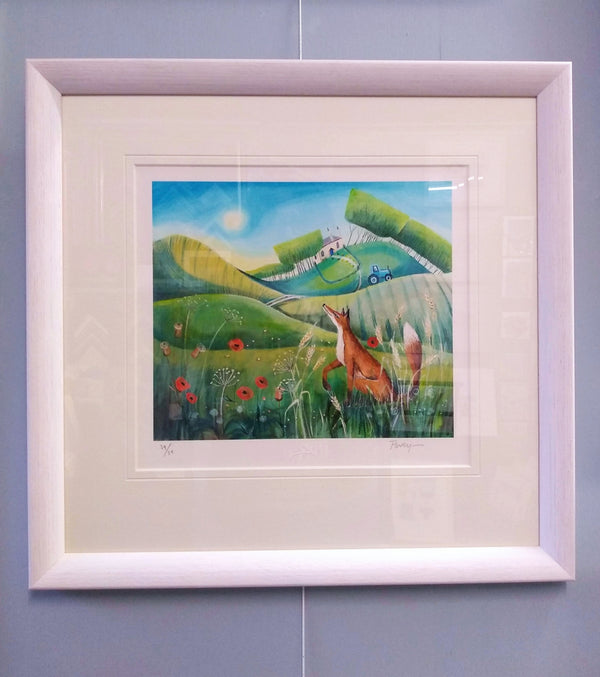 Carolyn-Pavey-Fox-In-The-Meadow-Limited-Edition-Print