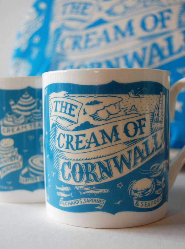 Cream of Cornwall mug
