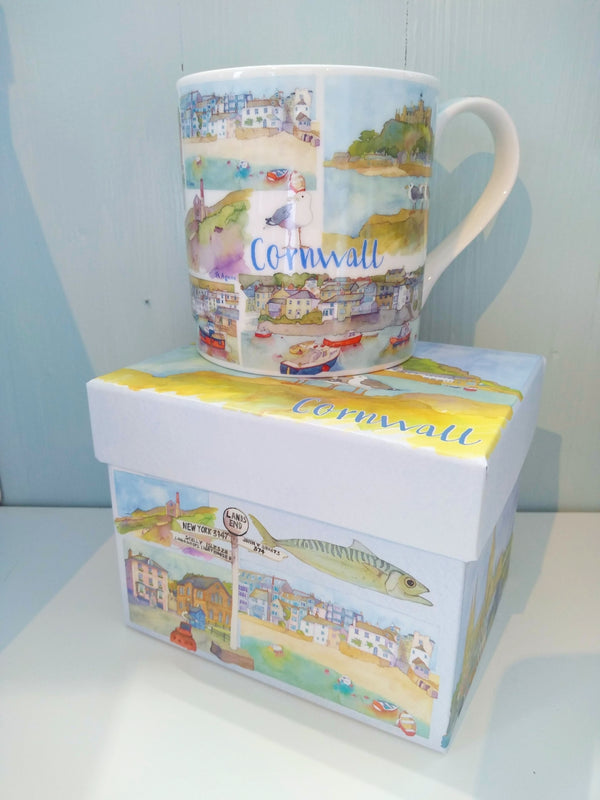 "Emma Ball ""Cornwall"" Mug"