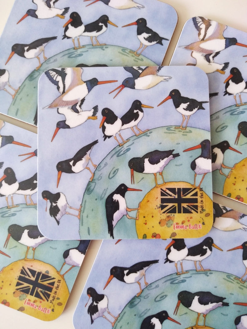 Emma Ball Oystercatchers Flying coaster