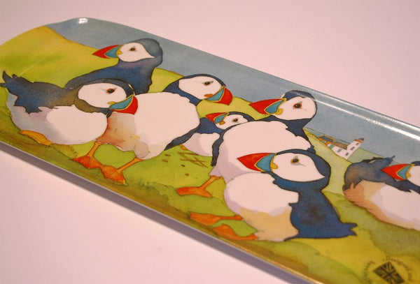 Emma Ball Puffins Sandwich Tray