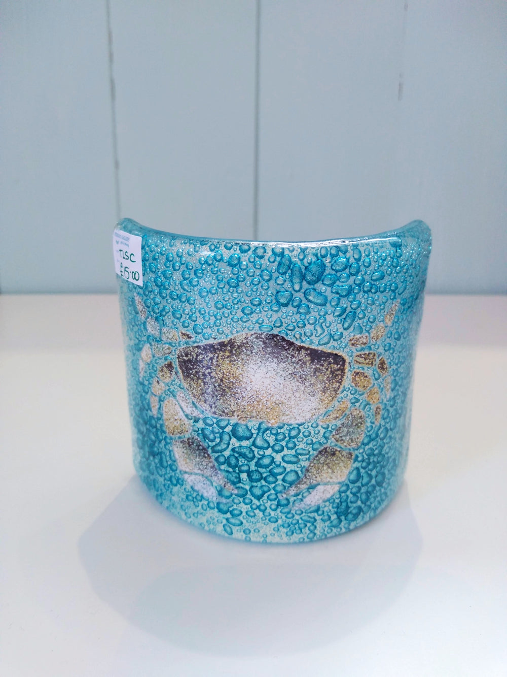Glass Crab T-light Shade