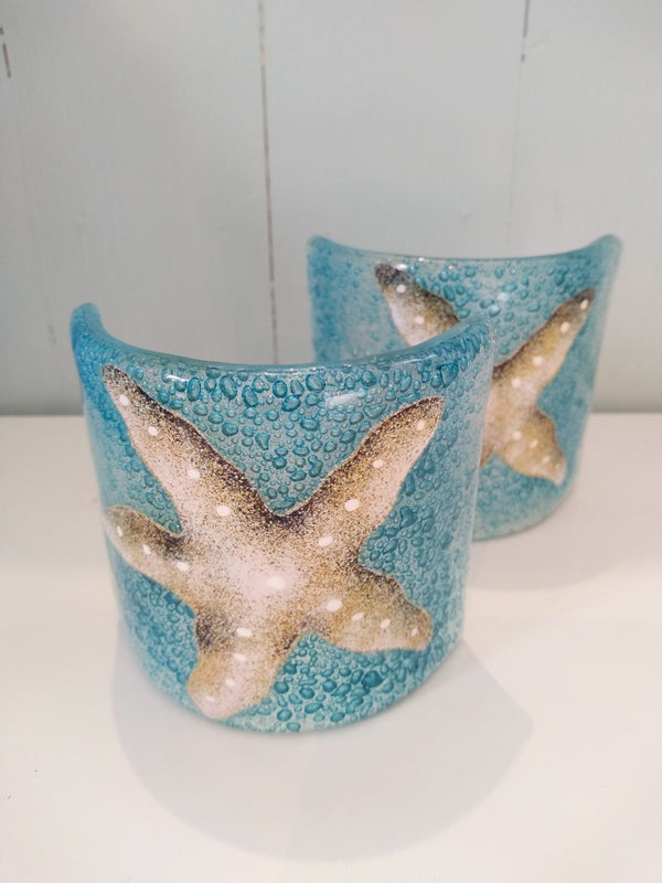 Glass Starfish T-light Shade