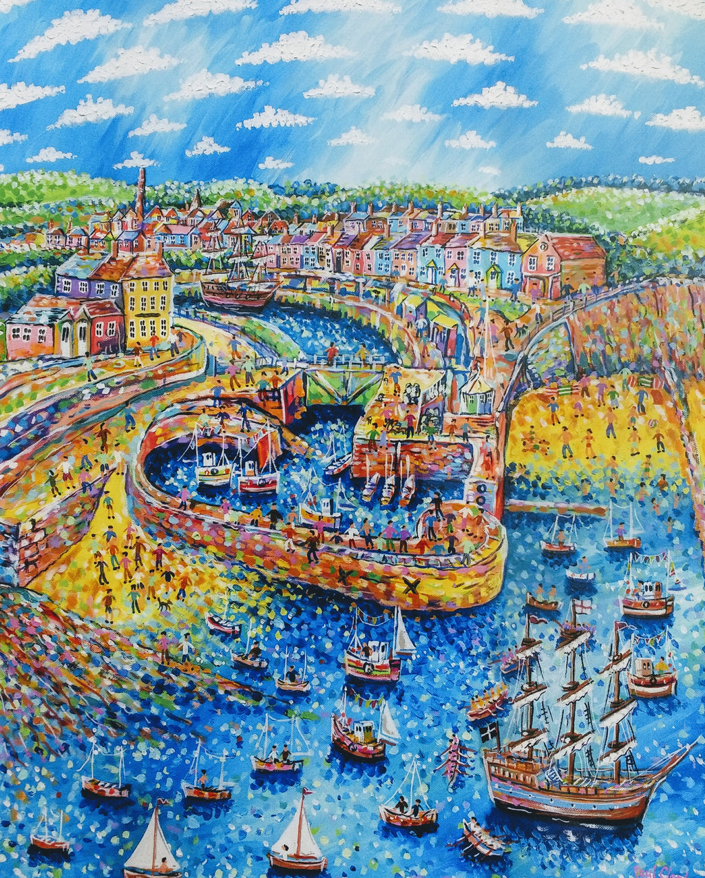 Paul Clark Charlestown Regatta II Print