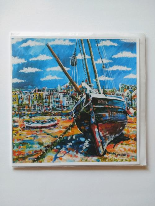 Low Tide St. Ives card