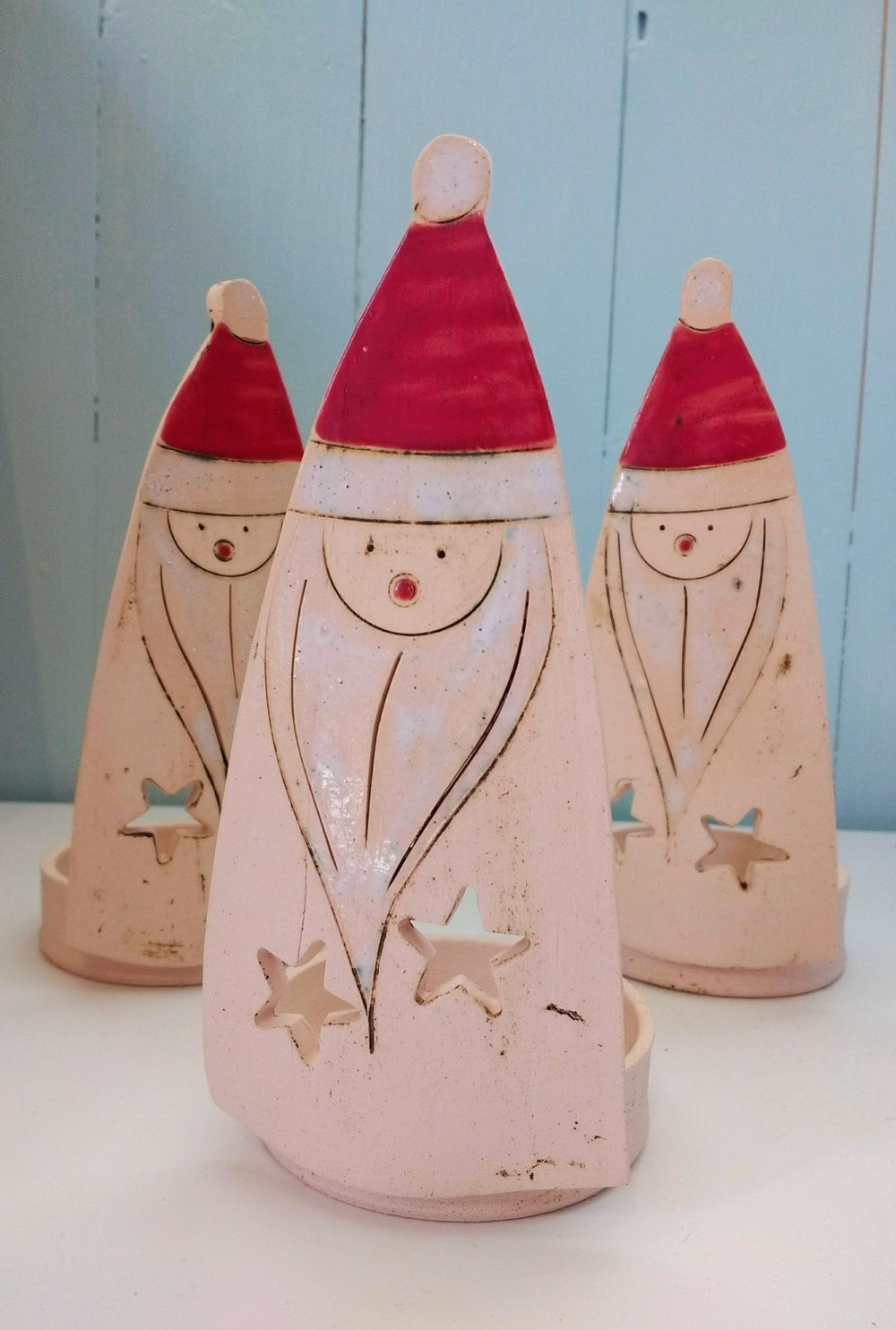 Iveta Goddard Santa Tealight Holder