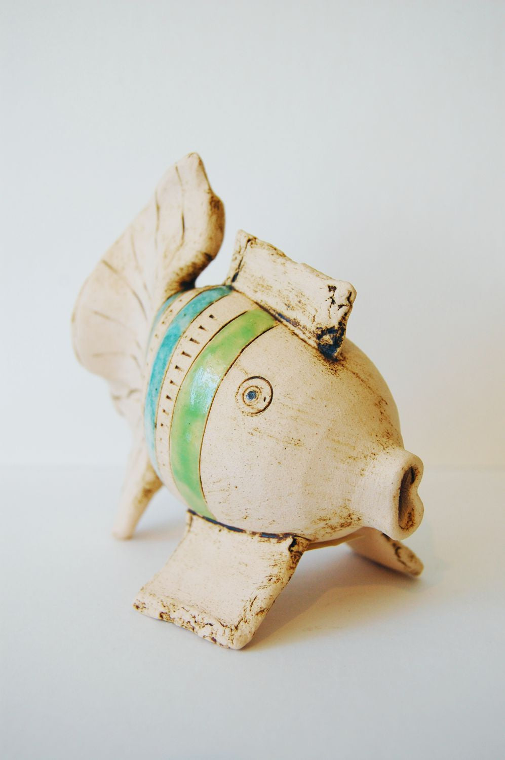 Iveta Goddard Ceramic Fish