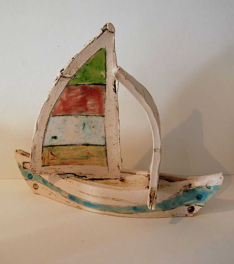 Large sailing boat by Ivetta Goddard