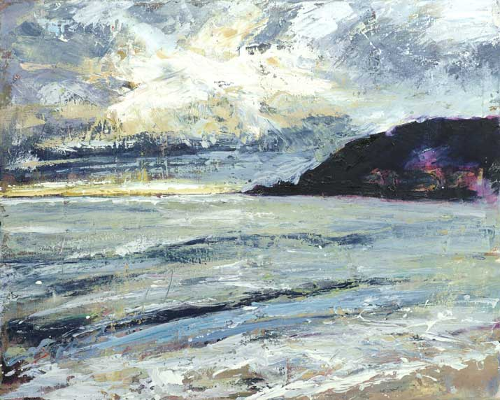 Joanne Chadwick, Pentewen Beach Looking West, print