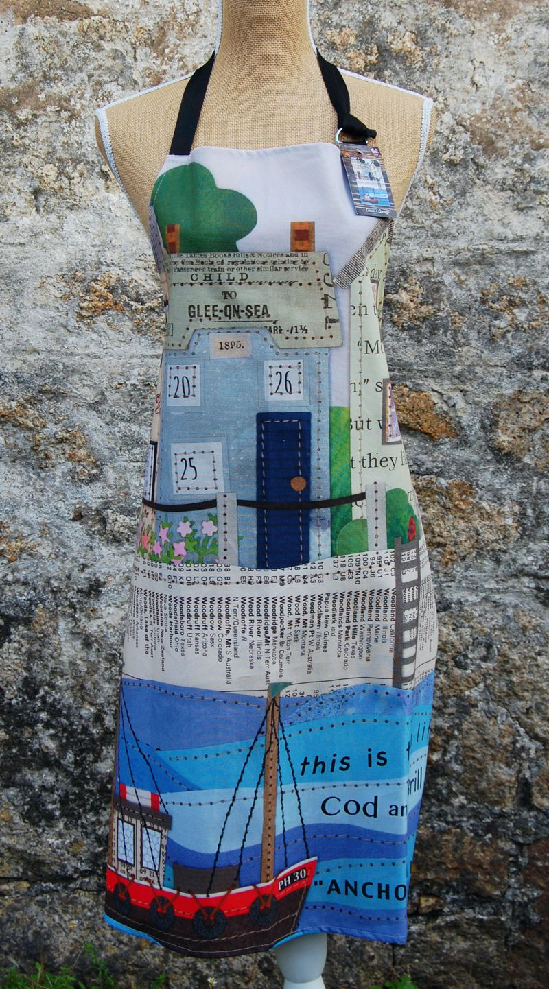 Sailing By Glee On Sea Apron
