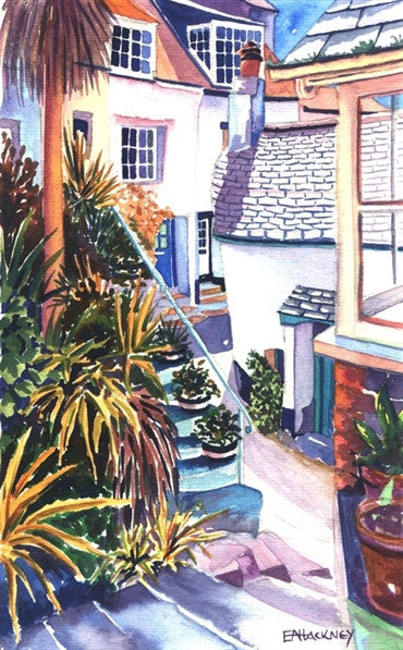Liz Hackney Cornish Palms, St. Ives