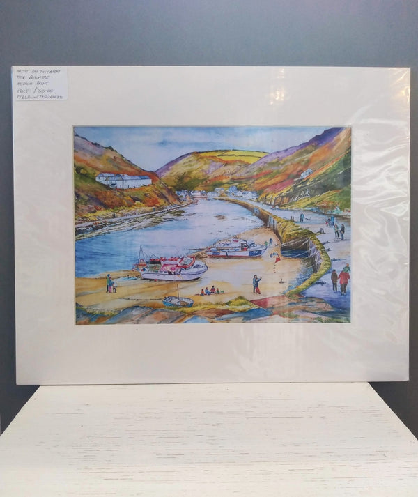 Large Boscastle print by Pat Thuysbaert