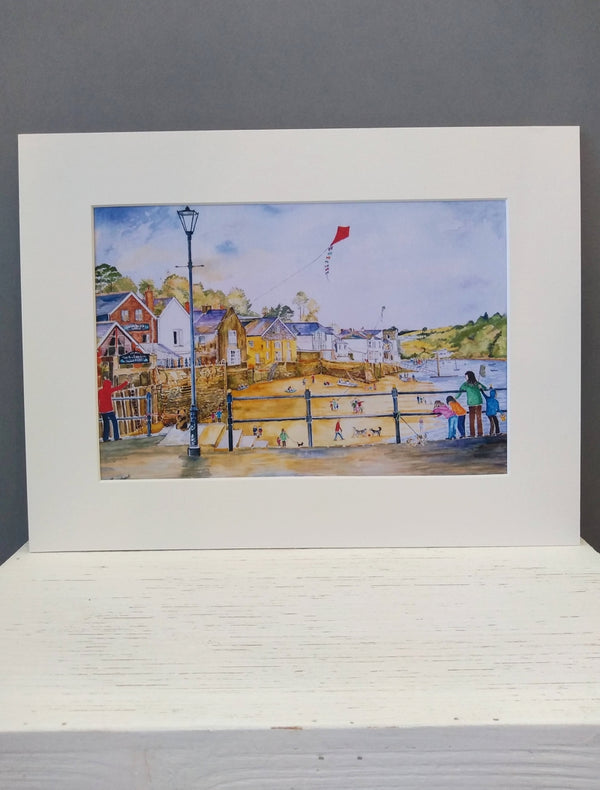 Medium Fowey print by Pat Thuysbaert