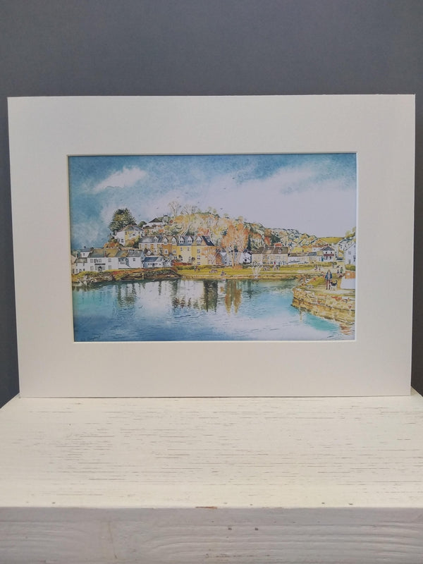 Medium Pentewan print by Pat Thuysbaert